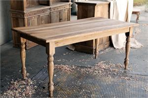 Gertie 39 S Old Elm Farmhouse Dining Table Reclaimed Wood